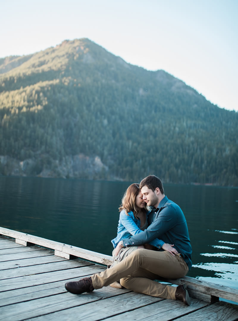 Photography Port Angeles Engagement Photography