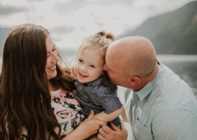 Maternity Photography by Stephanie Gray Photography Lake Crescent Washington