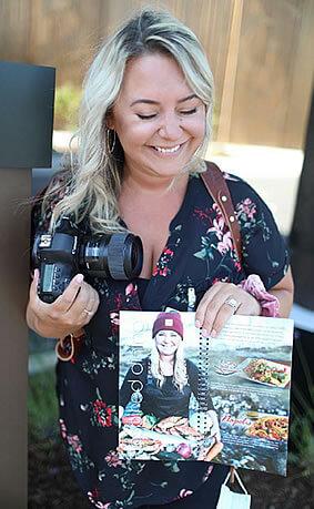 Stephanie Gray With Her Camera
