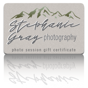 Stephanie Gray Photography Gift Certificates
